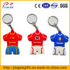 Color Clothes PVC Keychain for Sale