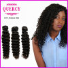 8A Quercy Hair Deep Wave Hair Weft Virgin Remy European Hair