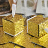 Hot Selling Gold Sequins Bling Bling Shining Gift Packaging Box Candy Box