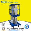 Masts Gtwy4 6/8/10/12-200s Hydraulic Lift Aluminum Alloy Lifting Table Platform Elevator