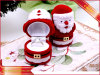 Velvet Ring Box Christmas Jewelry Packing Box