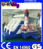 2014 Hot Christmas Inflatalbe Bouncer with Slide