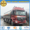 35 M3 Foton Heavy Capacity Fuel Tank 4 Axles Aluminium Alloy Tanker Truck Price