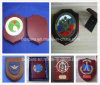 Wooden Plaque with Crest Wood Wall Shield with Crest