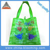 Recycle Supermarket Tote Carrier Lamination Non Woven Shopping Green Bag
