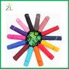 Superior Quality Automatic 21inch Printed Logo Design 3 Fold Umbrella for Rain