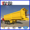 U Type Tri Axle 60 Ton Hydraulic Tipper Trailer