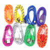 Textile Fabric Micro USB Cable for Samsung Galaxy S4