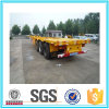 3 Axles Flat Bed Skeletal Semi Trailer for Sale Cimc