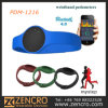 Wristband Silicone Pedometer Watch with LED Display