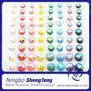Rainbow Ab Round Gemstone Sticker