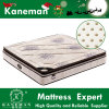 Thailand Latex Anti-Pressure Bonnell Spring Mattress with Pillow Top Linen Fabric