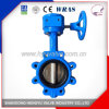 Lug Type Butterfly Valve with Gear Operator for Industrial Use