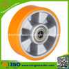 Heavy Duty Trolley Ball Bearing PU Wheel
