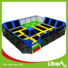 Liben Newest Design Small Trampoline Park with Foam Pit