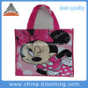 Lovely Promotion Advertisement Coated Non Woven Shopping Tote Bag