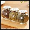 Glass Oval Jar / Tea Jar