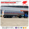 Round Type Aluminum Alloy Edible Oil Tank Trailers with Heating System