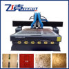 Double Heads Vacuum Table Wood CNC Router