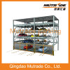 4 Floors Vertical Horizontal Car Parking Lift System