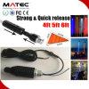 Car Truck Quick Release Mount LED Flag Light RGB Remote 3m Harness LED Light Bar