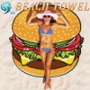 Fashion 100% Cotton Round Beach Towel