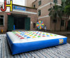 Cuaomized Outdoor 5X5m PVC Inflatable Twister Game for Sale