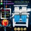 Holiauma Latest 2 Head Computerized Embroidery Machine for 3D Embroidery