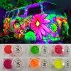 Multi-Colored Fluorescent Pigment, Neon Powder for Car Paint