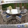 Well Furnir WF-17060 7 Piece Dining Set with Cushions