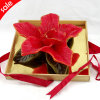 Flower Wood Gift Craft Candle Box (RC-517)