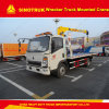 Sinotruk 4X2 Light Duty Wrecker Truck Mounted Crane