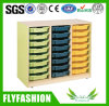 Kids Wooden Toy Drawer Storage Cabinets for Children (SF-131C)