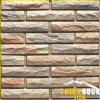 Yellow White Culture Stone for Wall Brick Cladding