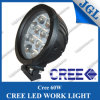60W Round LED Work Lamp