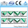Toughened Tempered Building Glass with Flat Edge Triple Bevel Edge Pencil Edge Polished