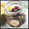 Mini Glass Bottle for Storage Rose Tea