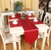 Sequin Embroidery Table Runner Embroidery Decorative Table Flag (JTR-41)