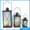 Antique LED Metal Lantern for Decoration