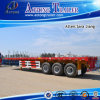 3 Axles 40ft Flatbed Trailer / Container Semi Trailer (LAT9380TJZG)