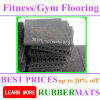 Recycle Rubber Bricks Shock Absorbing Flooring Mat Crossfit Gym