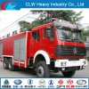 North Benz Fire Truck Water Foam Fire Fighting Truck