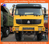Sinotruk HOWO 6X4 All Wheel Driven Dump Truck for Desert