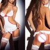 Erotic Underwear Lingerie for Women Sex Nurse Cosplay Uniform Sexy Lingerie Babydoll Dress Hot Erotic Open Bra Sexy Costumes