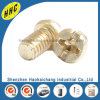 OEM High Precision Nonstandard Brass Cross Pan Head Screws