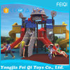Plastic Slide Type Plastic Swing and Slide Kids Outdoor Playground (FQ-KL049A)