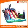 2017 Giant Inflatable Double Lanes Slide for Amusement Park (T4-517)