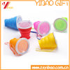 Silicone Factory Wholesale Food Grade Folding Silicone Cups Easy to Carry, Silicone Water Cups FDA Certification (XY-FF-173)