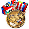 Manufacturer Custom Europe Regional Feature Metal Sport Medal