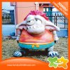 Cute Cartoon Monster Amusement Park Plastic Doll Decoration Equipment for Sale